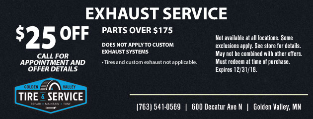 Exhaust Service Special