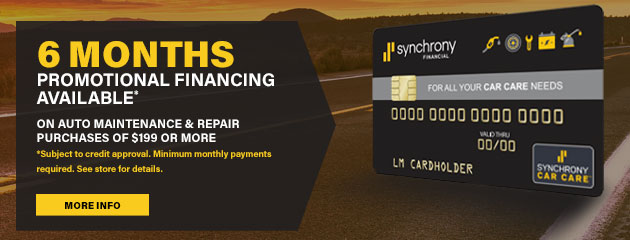 Synchrony Car Care Card