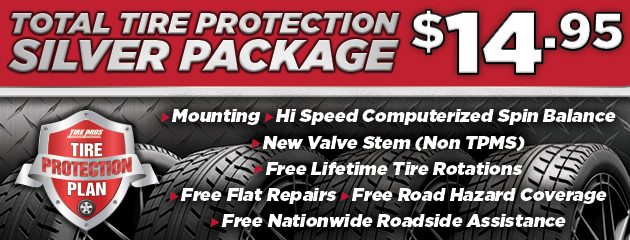 Total Tire Protection Silver Package