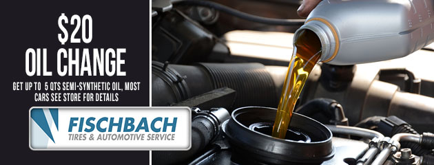 $20 Oil Change Special
