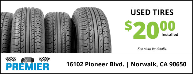 Used Tires Special