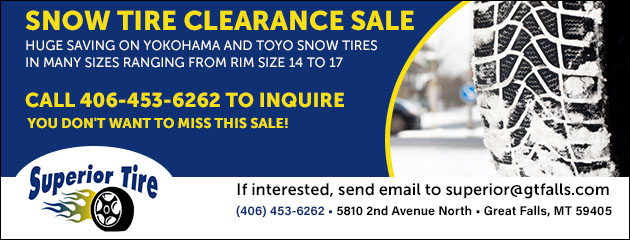 Snow Tire Clearance Sale