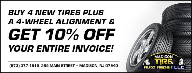 Madison Tire Auto Repair Discount Tire Auto Shop In