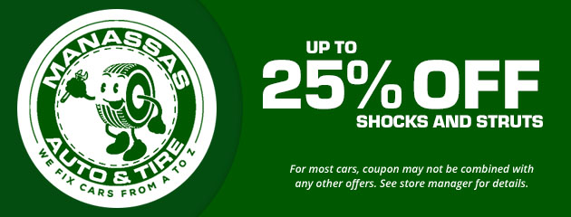 Shocks & Struts, Up to 25% Off