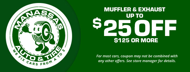 Muffler & Exhaust, Up to $25 Off $125+