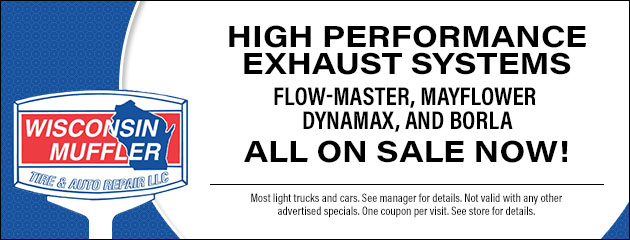High Performance Exhaust System Sale