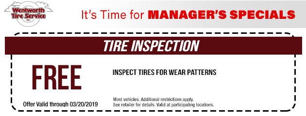 Free Tire Inspection Special
