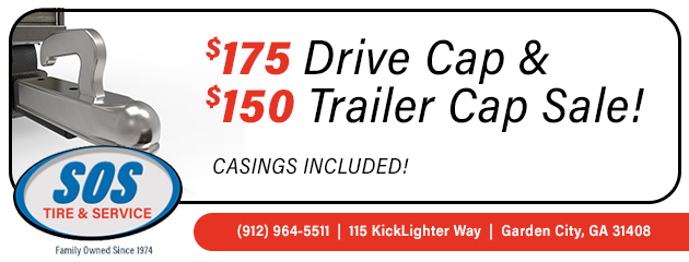Trailer & Drive Cap Sale