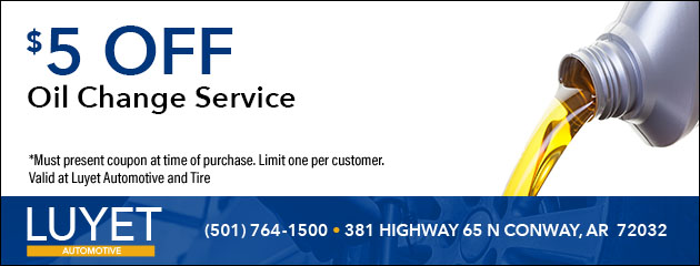 $5 Off Oil Change Service