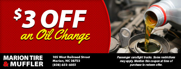 $3 Off an Oil Change