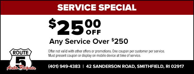 $25 Off Any Service Over $250 Special