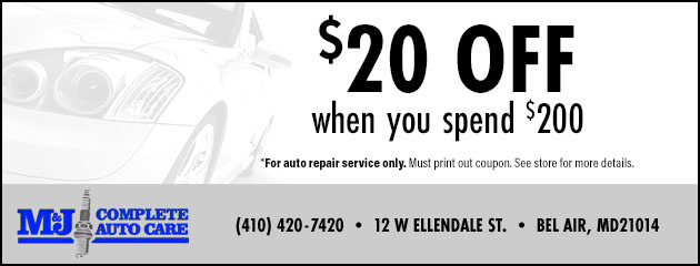 Save $20 when you spend $200 Special