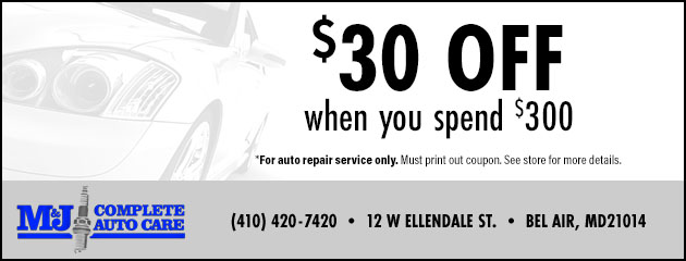 Save $30 when you spend $300 Special
