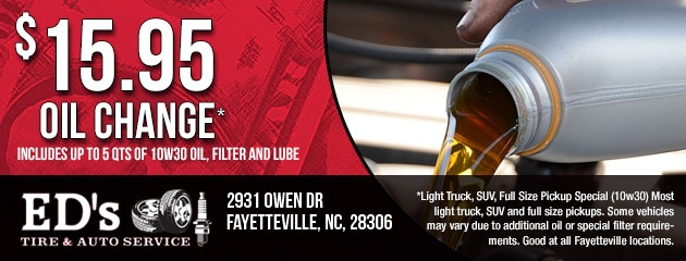 Light Truck, SUV, Full Size Pickup Special(10w30) - $15.95
