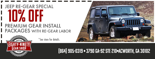 Jeep Re-Gear Special