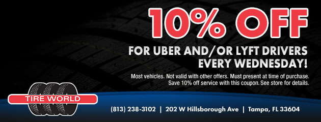Uber/Lyft Discount Every Wednesday