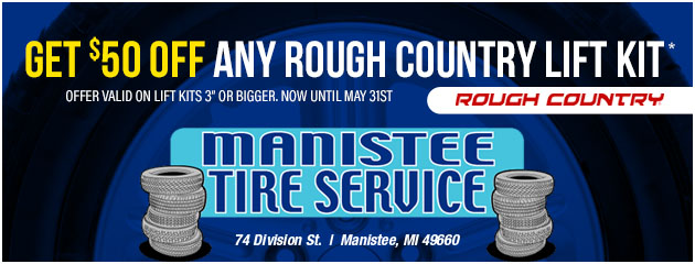 Get $50 Off Any Rough Country Lift Kit