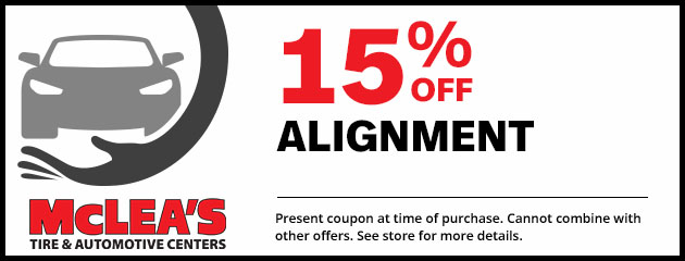 15% Off Alignment