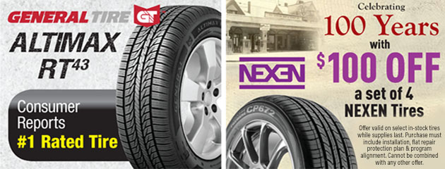 Nexen and General Tires