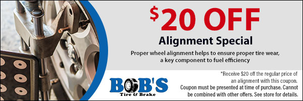 $20 Off Alignment Special