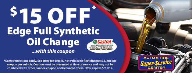 Edge Full Synthetic Oil Change Special