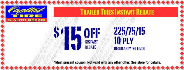 Trailer Tires Instant Rebate