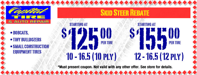 Skid Steer Rebate
