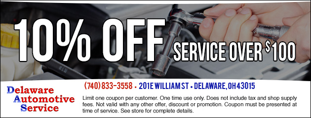 10% Off service over $100