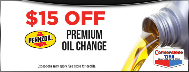 $15 Off Premium Oil Change