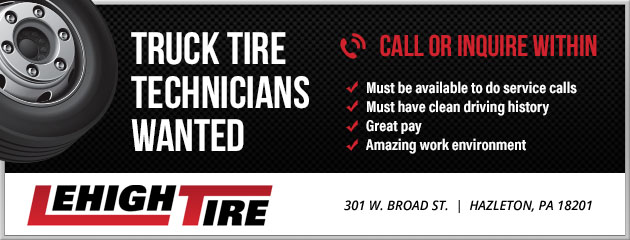 Truck Tire Technicians Wanted