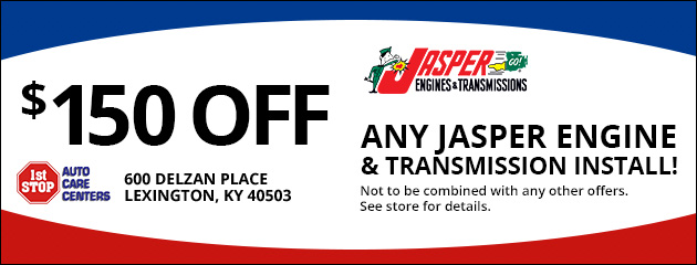 $150 Off Any Jasper Engine and Transmission Install