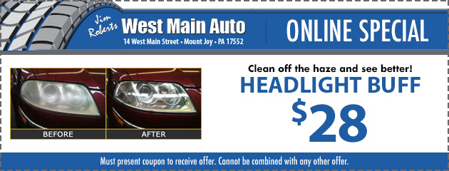Headlight Buff ONLY $28