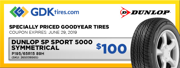 coupons on tires at goodyear