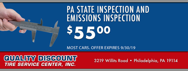 PA State Inspection and Emissions Inspection