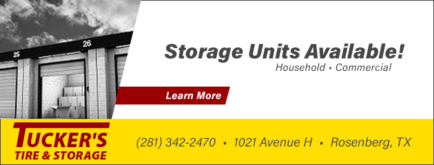 Storage Units Available!