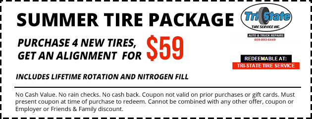 Summer Tire Package $59