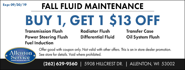 Fall Fluid Maintenance