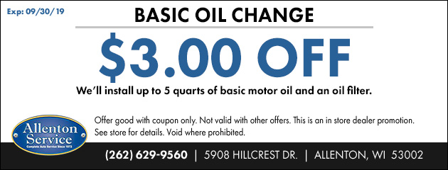 Basic Oil Change