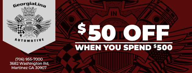 Save $50 when you spend $500