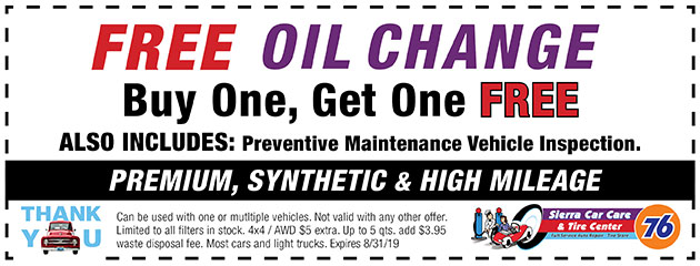 Tires Coupons :: Sierra Car Care Centers and MST Tire Center