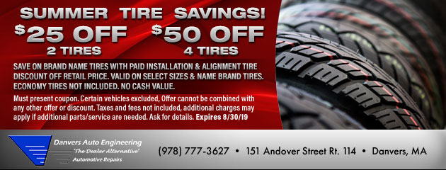 Summer Tire Savings