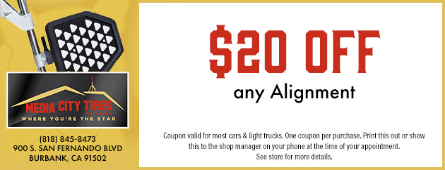 $20 Off Any Alignment
