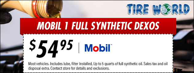 Mobil 1 Full Synthetic Dexos Special