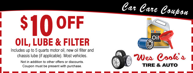 Oil, Lube & Filter Special