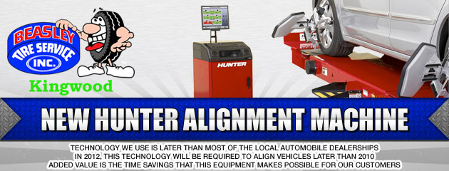 Hunter Alignment Machine