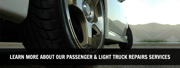 Learn More About Our Passenger & Light Truck Repair Services