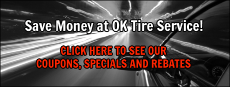 OK Tire Service Savings