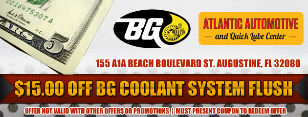 $15 Off Coolant System Flush