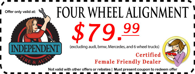 Coupons Independent Tire Auto Inc