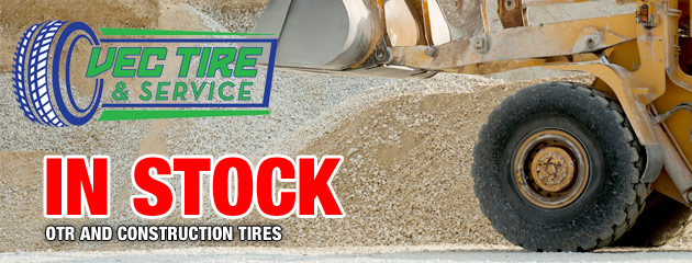 In Stock OTR and Construction Tires